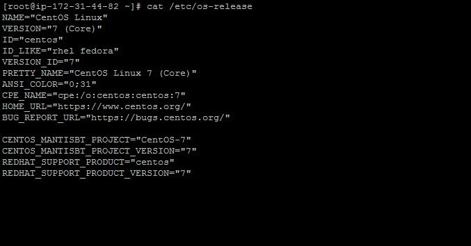 how-to-check-centos-version-ssh-command